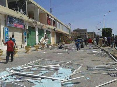 Benghazi shoppers may have had lucky escape