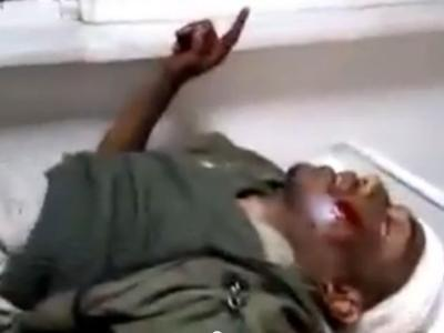Soldier (Bilal Libya) last throes after being tortured