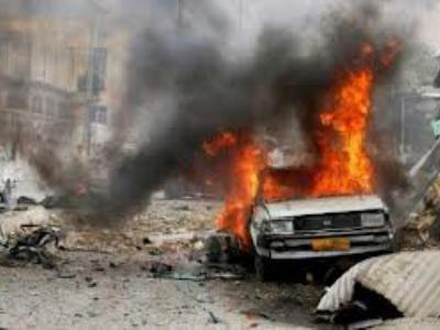 The survival of the police officer in Benghazi from a bomb attack on his car at Elruizat